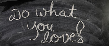 do what you love on blackboard